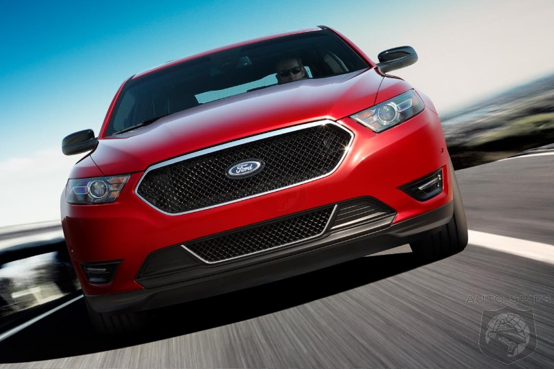 Taurus SHO stars in Ford TV spots