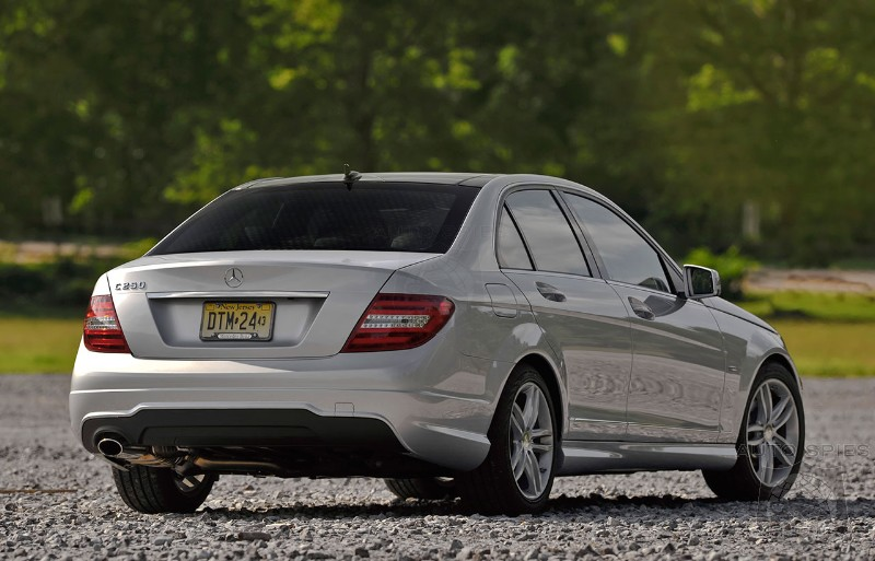 Mercedes C-Class outsold the Bmw 3-Series in January
