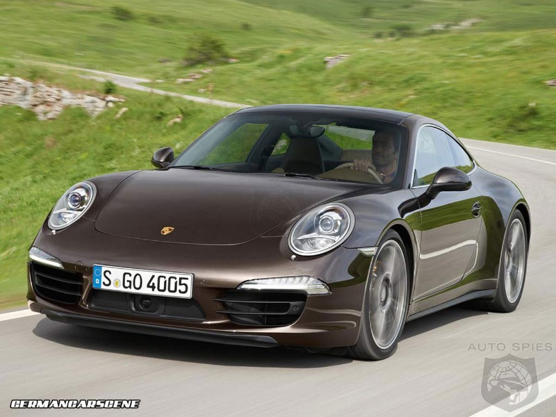 Porsche 911 50th anniversary edition in the works