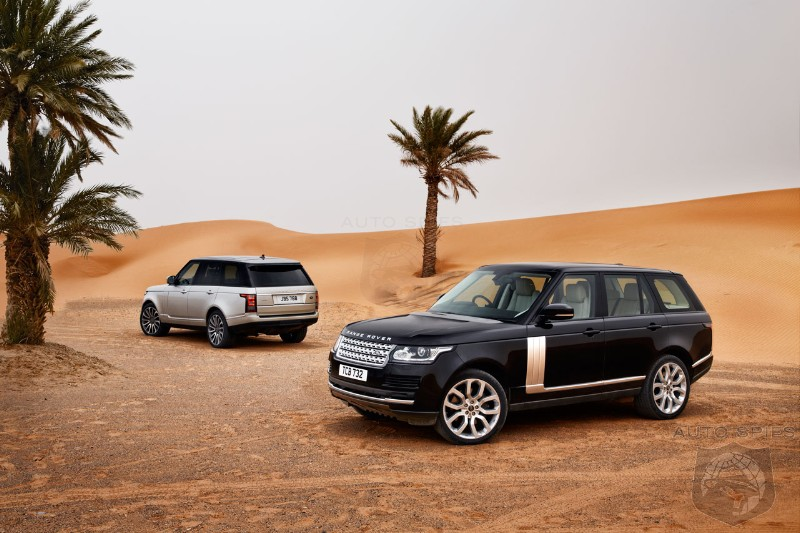2013 Range Rover gets 5 stars at the Euro NCAP crash test