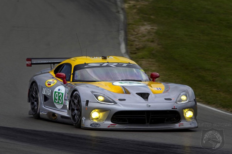 SRT Viper returns to Le Mans
