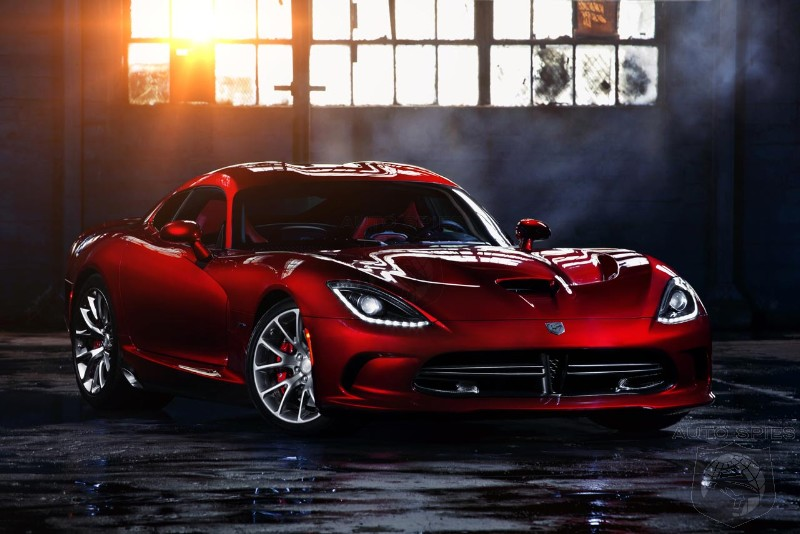 "Ferrari Boss ""Speechless"" About 2013 SRT Viper, Says Chrysler's Marchionne"