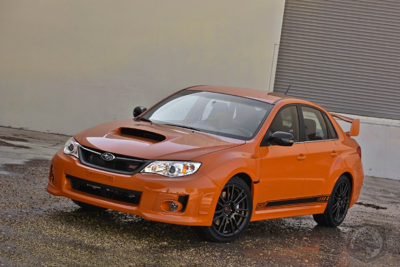 2013 Subaru WRX and WRX STI Special Editions get a price tag