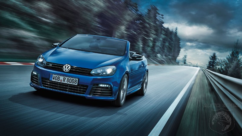 Vw Golf R Cabrio unveiled