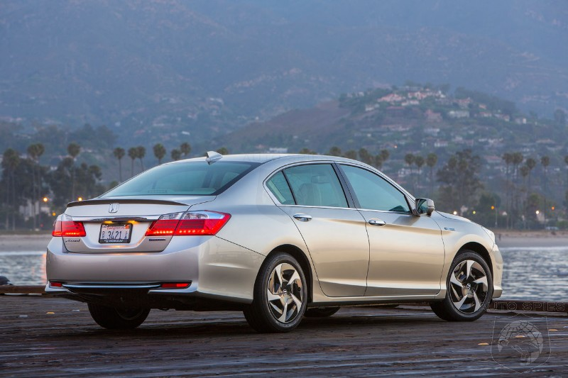 2014 Honda Accord Plug In Hybrid Sedan