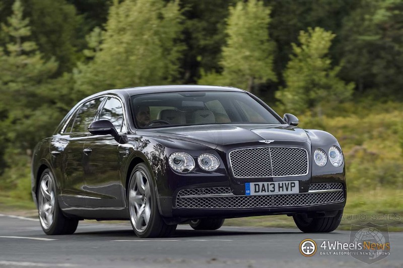 Bentley expects the new Flying Spur to be a best-seller in China