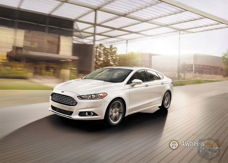 Ford raises incentives on Fusion to cut inventories