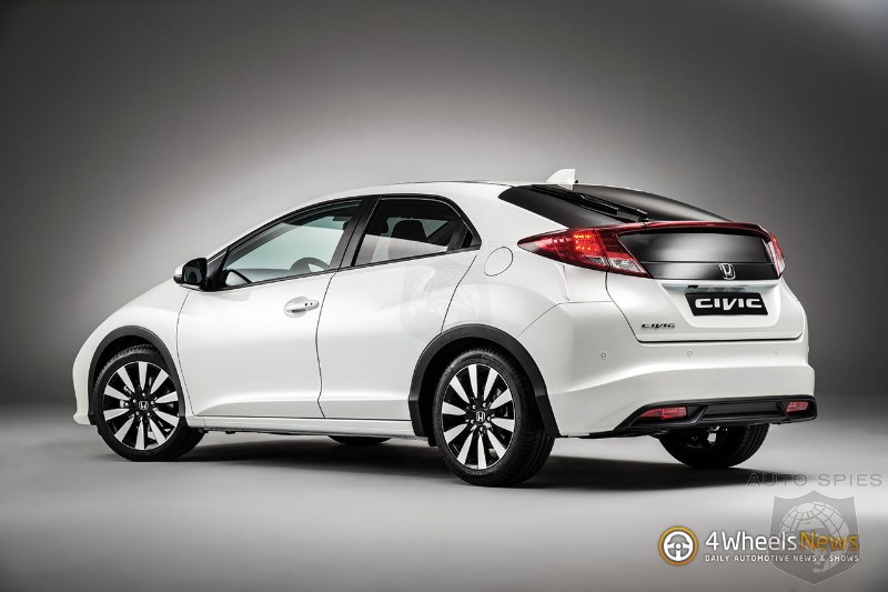 Honda Civic Hatch Gets Styling Upgrades