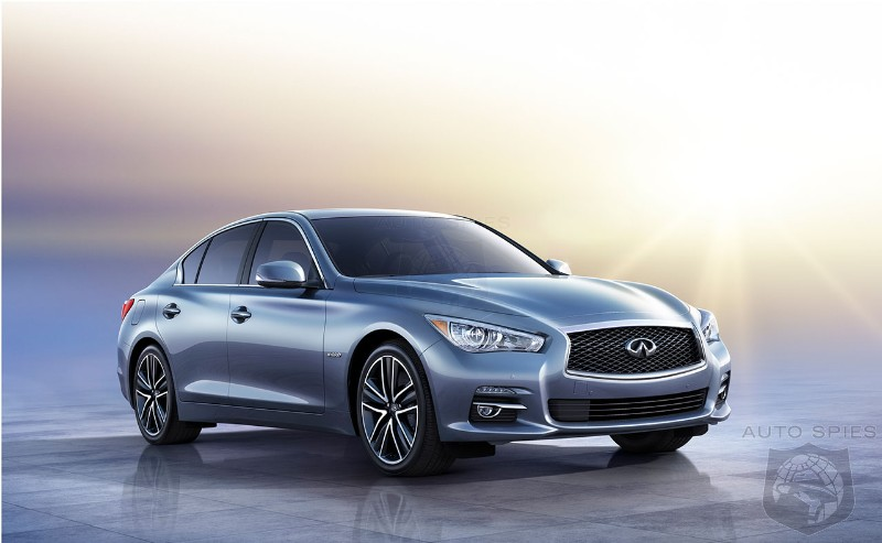 Infiniti will offer steer-by-wire technology as an option on the Q50 sedan