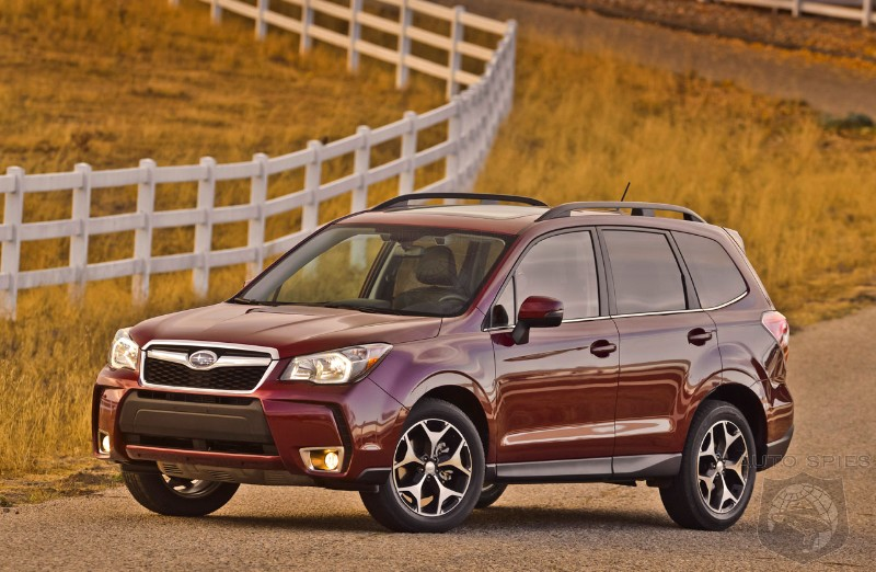 2014 Subaru Forester already a success with 8,000 pre-orders