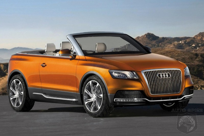 Audi Wants To Take On The Nissan Murano Crosscabriolet But Why