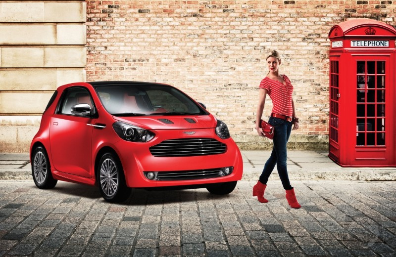 Aston Martin Wants To Sell Over 1,500 Cygnet City Cars A Year