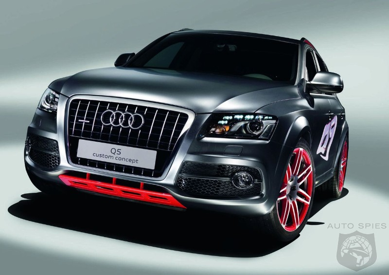 Hot diesel Audi Q5 readied