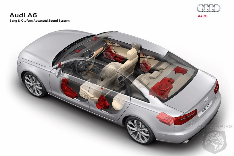 2012 audi a6 receives bang olufsen advanced sound system. Black Bedroom Furniture Sets. Home Design Ideas