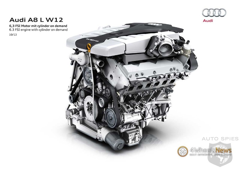 Bentley Will Build W12 Engines For Audi Vw Autospies