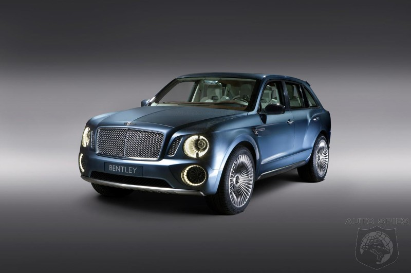 Bentley aims to sell 3,000 SUVs in 2015