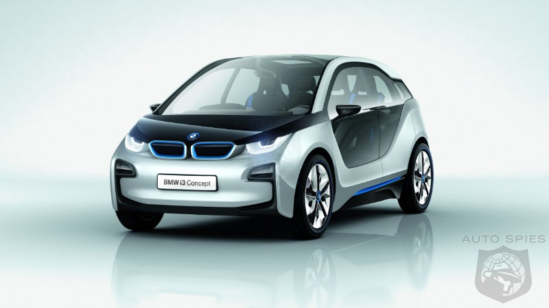 Bmw I3 to get a motorcycle engine as range extender