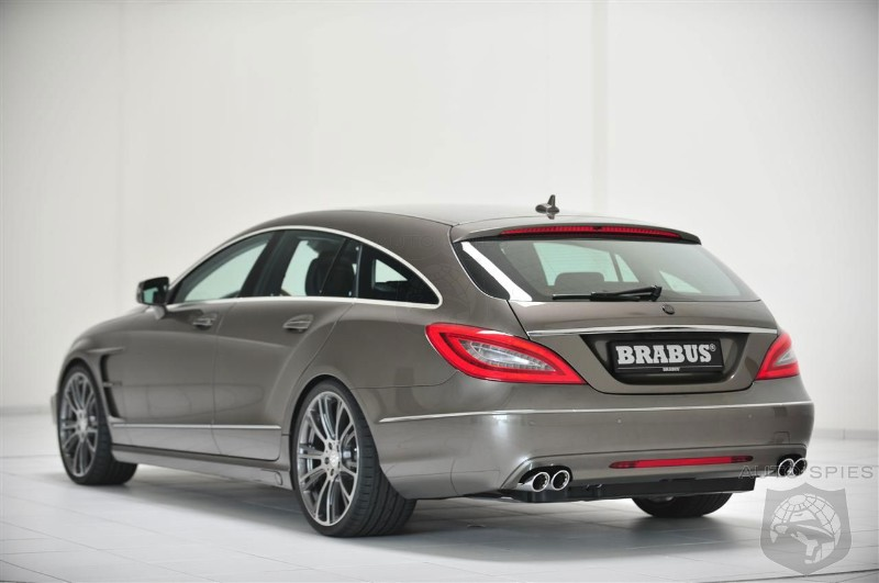 Brabus Mercedes Benz Cls 63 Amg Shooting Brake Autospies Auto News