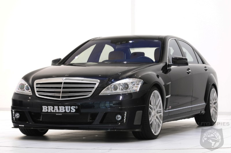 Brabus SV12 R Biturbo 800: the fastest luxury sedan in the world