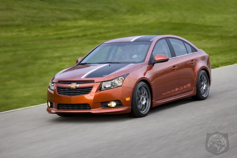 Report Chevrolet Cruze Ss Under Development Autospies
