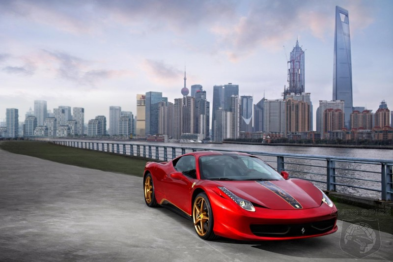 Ferrari 458 Italia gets a special edition in China