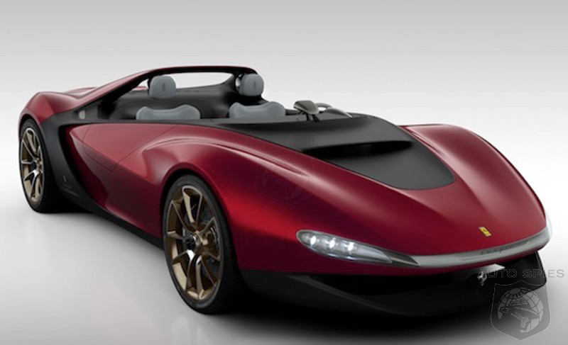 Pininfarina wants to produce the Ferrari Sergio Concept