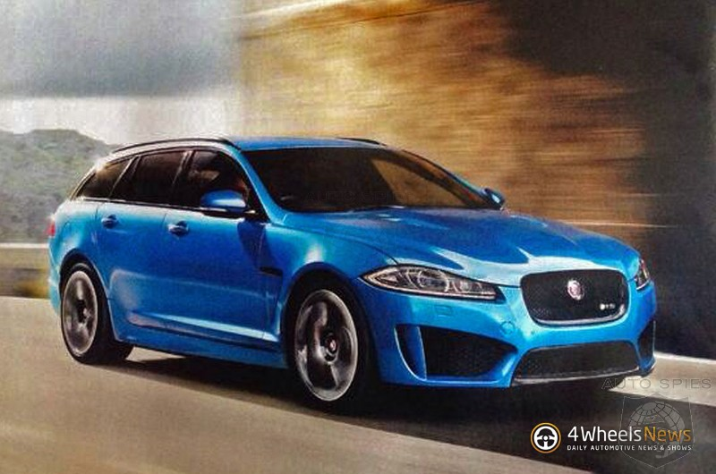 Are you the Jaguar XFR-S Sportbrake?
