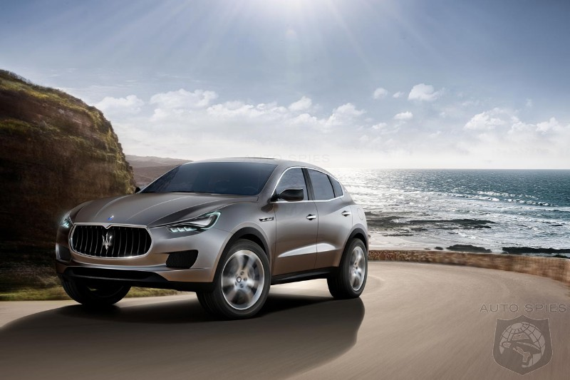 Maserati will use the audio system to deliver V8 noise in its SUV