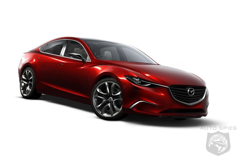 2014 Mazda6 will drop V-6 engine