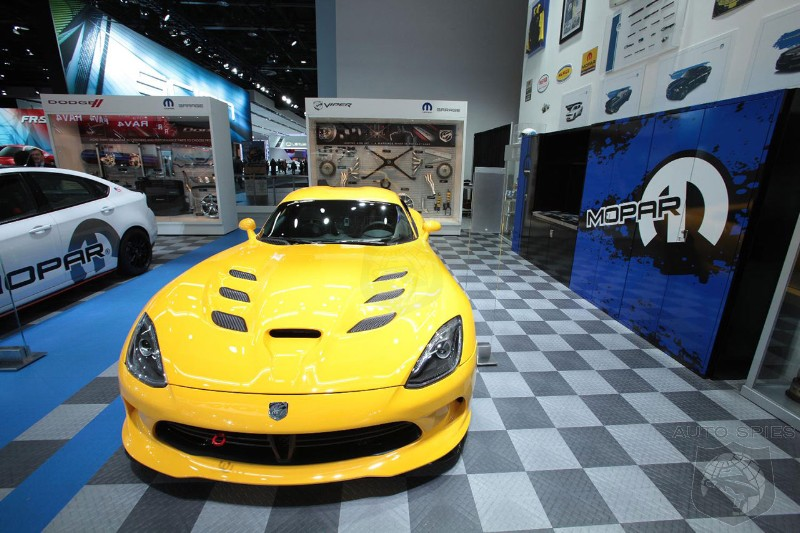 Chrysler will bring the Mopar Garage at the 2013 Chicago Auto Show