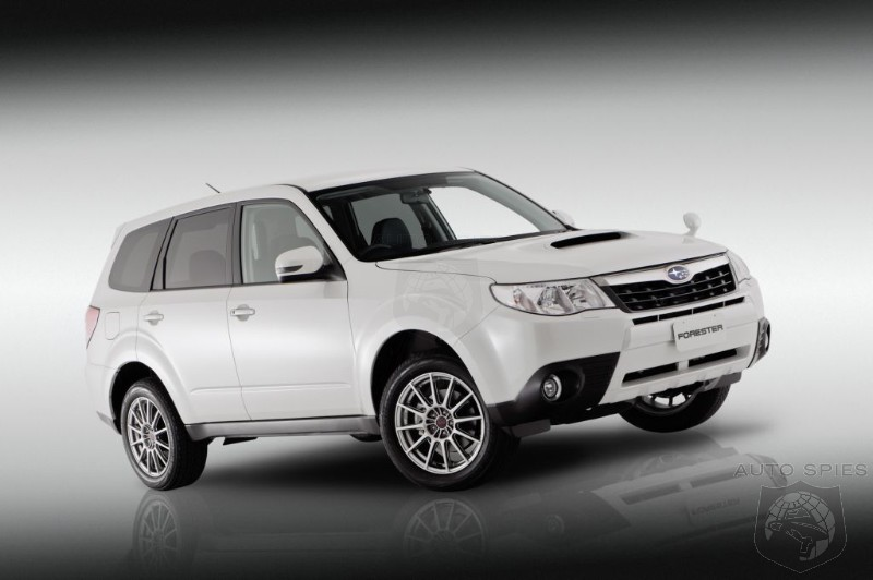 Subaru Forester S-Edition Concept breaks cover