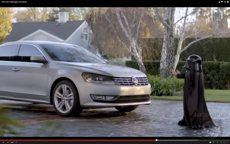 Vw 'The Force' is the Best Super Bowl car commercial of all time