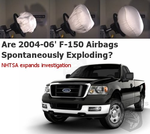 NHTSA Expands Investigation Into F150 Airbag Problems