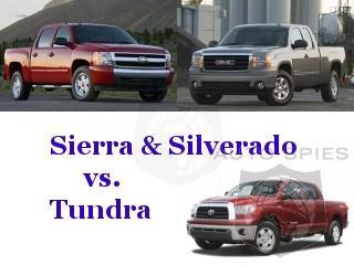 toyota tundra vs gmc sierra chevy silverado autospies auto news. Black Bedroom Furniture Sets. Home Design Ideas