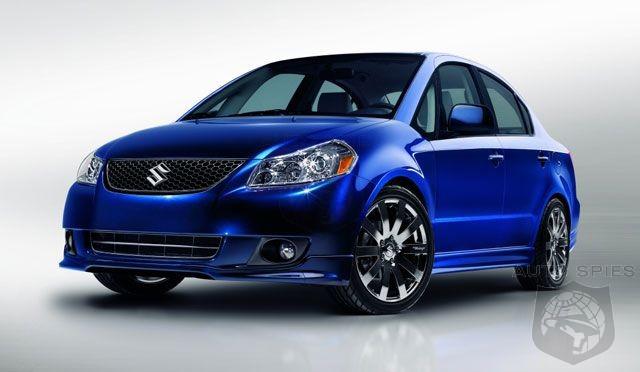 Suzuki SX4 Crossover Design