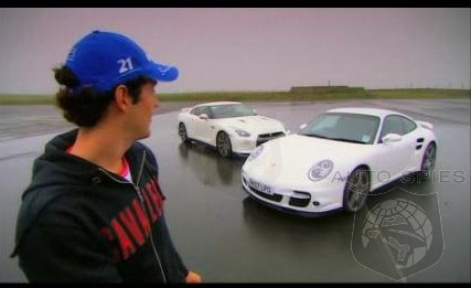 Porsche 911 Turbo V Nissan GT-R - Fifth Gear By Senna