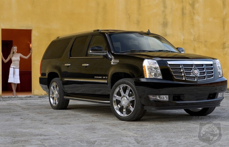 Black Cadillac Escalade 2009. 2009 Cadillac Escalade