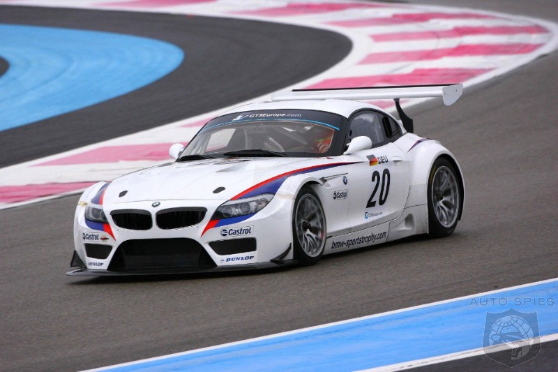 2010 Bmw Z4 Gt3 Race Car Official Details Released Autospies Auto News