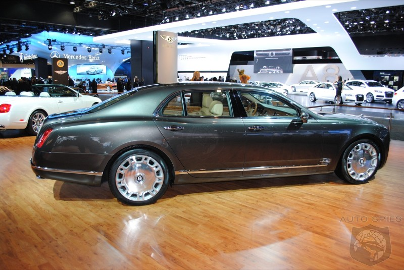 2010 Bentley Mulsanne prices start at 285000  AutoSpies Auto News
