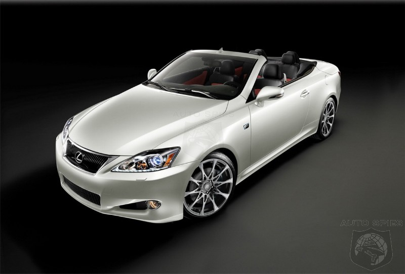 2011 Lexus IS 350C F Sport Special Edition Price