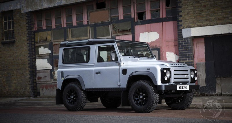 2012 Land Rover Defender XTech Edition in UK