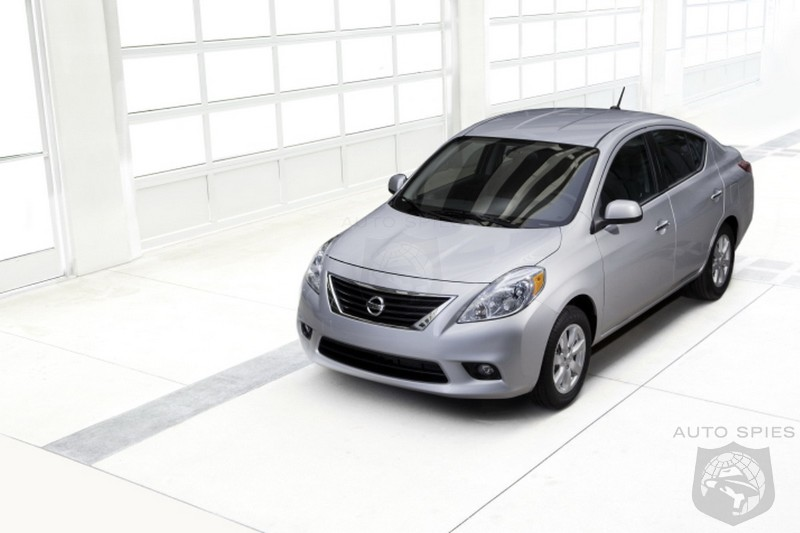 2012 Nissan Versa Sedan Pricing Announced