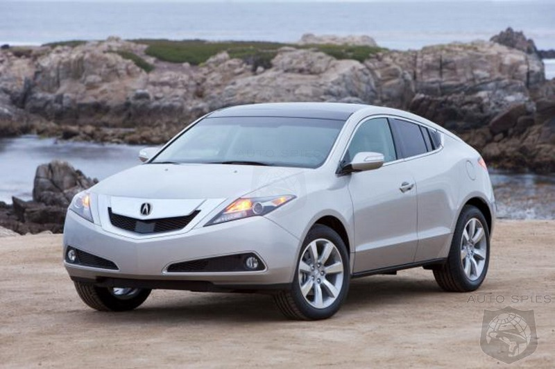 2013 acura zdx facelift breaks cover autospies auto news. Black Bedroom Furniture Sets. Home Design Ideas