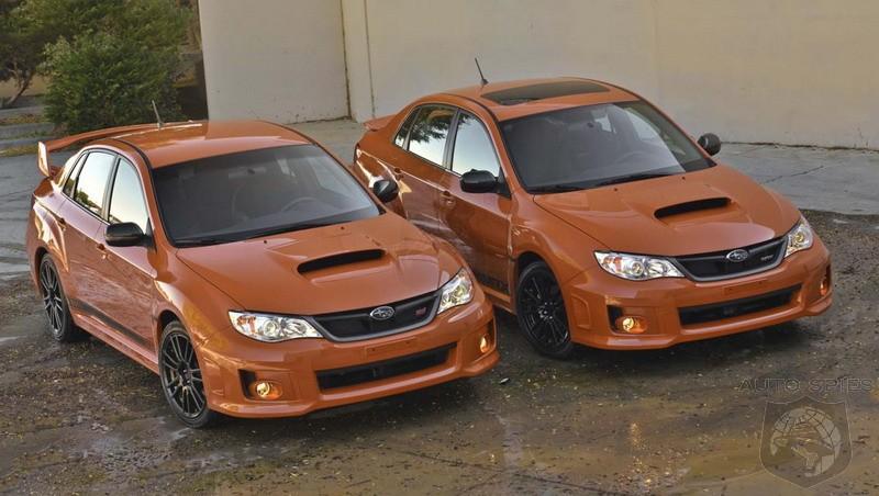 2013 Subaru Impreza Wrx Wrx Sti Orange And Black Special Editions