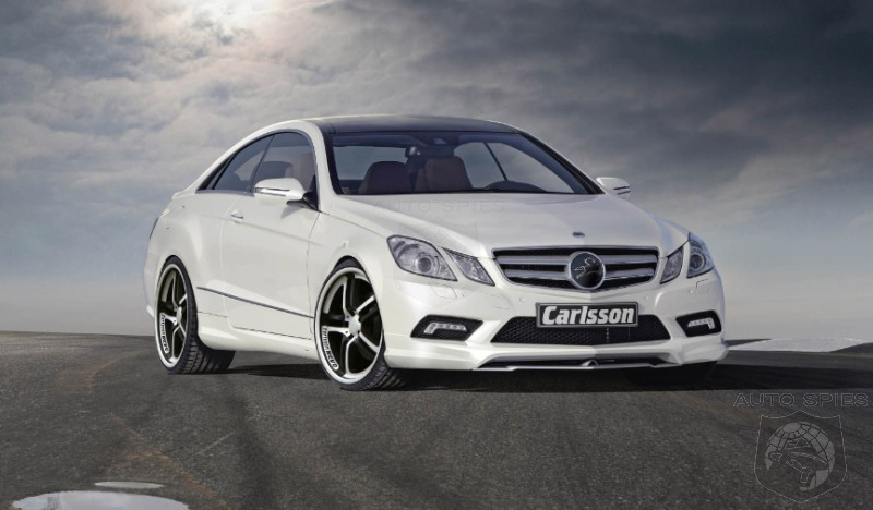 2010 Carlsson Ck50 Based On Mercedes Benz E500 Coupe Autospies