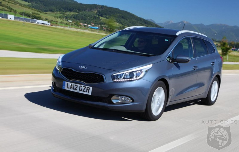 2013 Kia cee'd Sportswagon Pricing Announced UK