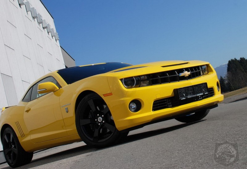 2012 Chevrolet Camaro Transformers Edition by O.CT Tuning