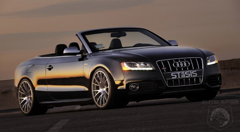 Audi S Cabriolet Signature Challenge By STaSIS AutoSpies - Audi s5 convertible