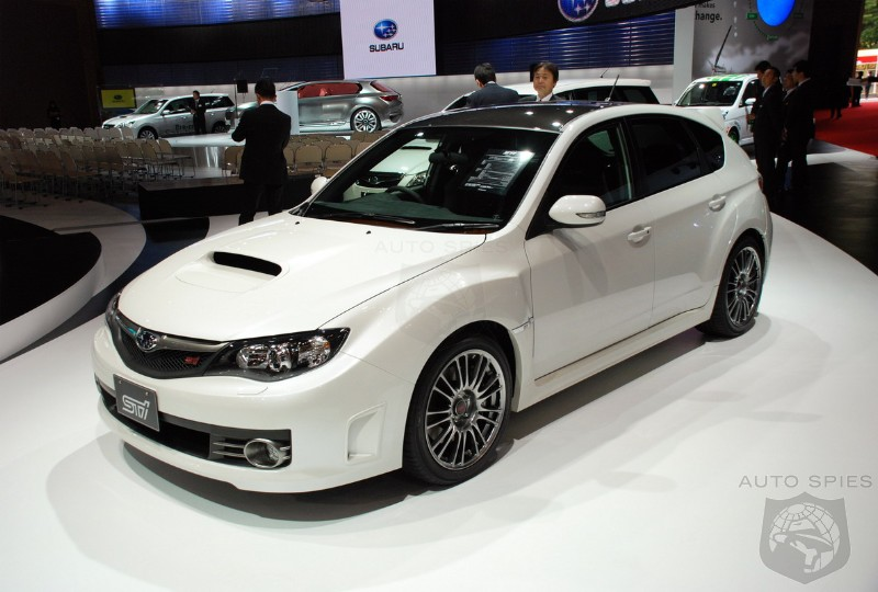 2010 Subaru Impreza Wrx Sti Carbon Breaks Cover