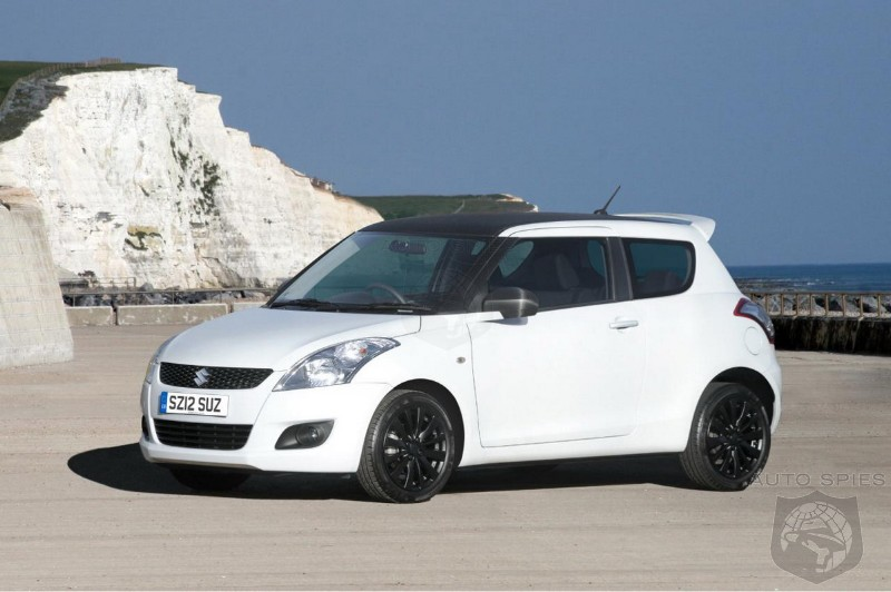 2012 Suzuki Swift Attitude Special Edition Announced